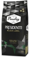Кофе в зернах Paulig Presidentti Black Label (Паулиг Президентти Блэк Лейбл ) 250г